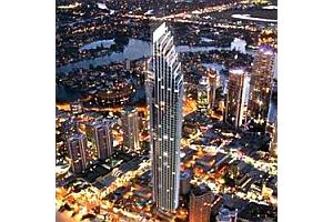 ゴールドコースト最高層77階建てコンドミニアム