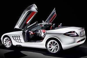 F1で頂点を極めたマクラーレンの美学・SLR