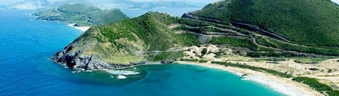 カリブ海のオフショアリゾート