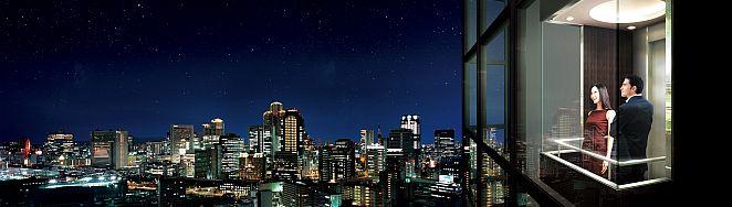 大阪・梅田を楽しむ50階177メートル超高層タワーレジデンス