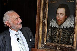 シェークスピアの生前唯一の肖像画を初公開