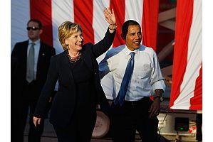 クリントン長官がオバマ大統領より人気(CNN調査)
