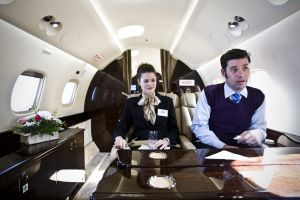 プライベートジェットが南ア、ナイジェリア間で運行