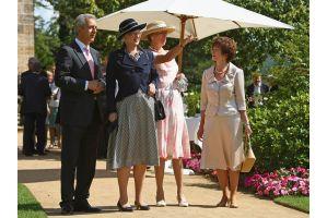 マルグレーテ女王がドレスデンを視察