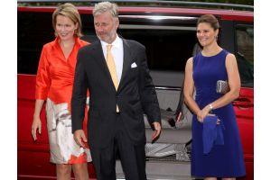 ベルギー、スウェーデン両王太子も関心の展示会