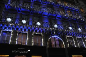 モンブランがパリに旗艦店オープン