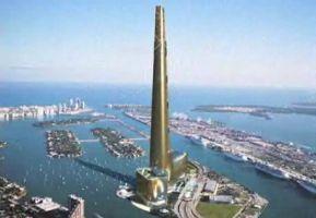 米マイアミ沖に世界一975米の高層タワー計画