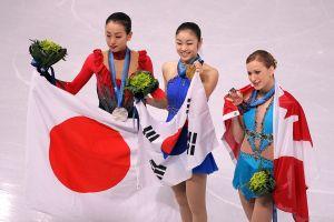 【速報】キム・ヨナ選手が金メダル確定、浅田2位、安藤5位