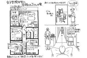 女子学院中学に合格したJさんの家、頭のよい子が育つ家【住まい編4】