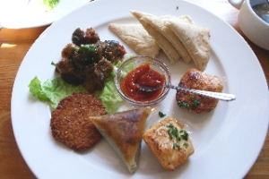 二子玉川のモロッコ料理にて しばし異国情緒を堪能。