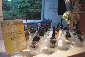 シャンパーニュの饗宴とドンペリ二ヨンの哲学