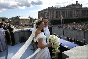 スウェーデン・ヴィクトリア王女が挙式