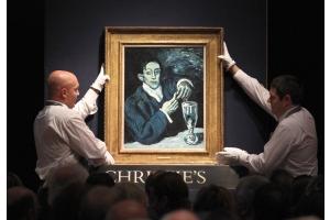 ピカソ「青の時代」の絵画、46億7000万円で落札