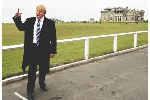 不動産王トランプ氏、「世界最高のゴルフコース」建設開始