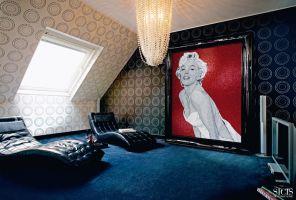 壁がアートとなるベネチアンマジック