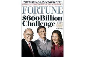 バフェット氏の56兆円の寄付金集め計画に大富豪たちも賛同