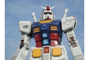 静岡の等身大ガンダムのパーツがヤフオクで40万円