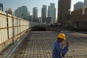 実質成長率14.5%のカタールが建設ラッシュ