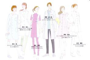現役医師と服飾大学のコラボ企画、白衣のファッションショー開催