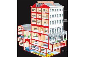 露大富豪が約200億円「要塞」をロンドン市街に建築中