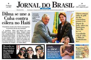 ブラジル政権、元モデルの美人副大統領夫人に注目