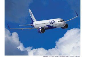 エアバス180機、1.3兆円分を印航空会社が購入