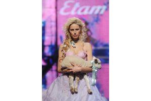 世界一のランジェリー美女と山羊