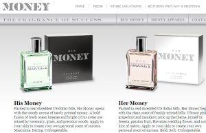 「お金の匂いがする香水」をMS副社長が発売