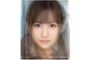 日本人女性の平均顔、AKB48の平均顔