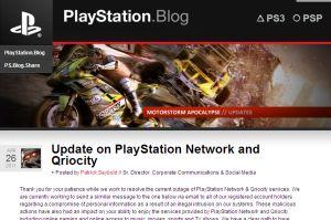 ソニー「PS3」の個人情報7500万人分が流出
