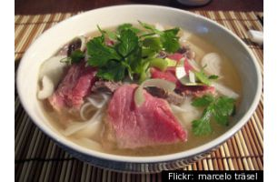 1杯40万円から、ベトナムスープの競売