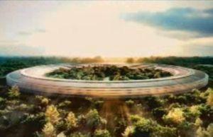 アップルのUFO型の新社屋計画