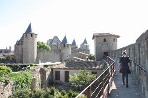 写真で届ける世界遺産(フランスその1、城壁都市カルカッソンヌ)