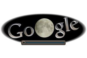 グーグルが皆既月食に
