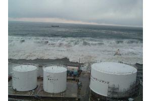 福島第一原発の津波は高さ13メートルに