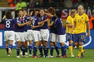 女子サッカーW杯で日本が決勝進出、史上初のメダル確定