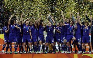 【女子サッカー】日本がPK戦を制しW杯初優勝