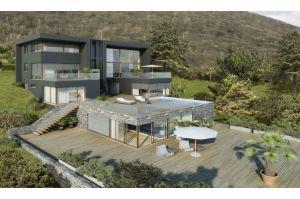 金20万キロ、1兆円の邸宅がスイスで竣工