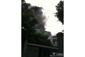 中国の原子力施設で火災か