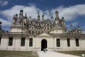 写真で届ける世界遺産(フランスその9、シャンボール城)