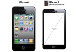 iPhone5はサイズが小さくなる?