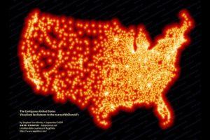 全米をマクドナルドが占領、株価も史上最高値