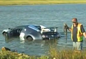 1.6億円ブガッティ湖転落事故は詐欺だった?