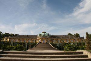 写真で届ける世界遺産(ドイツその4、フリードリヒ大王が愛したサンスーシ宮殿と庭園)