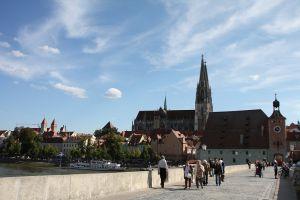 写真で届ける世界遺産(ドイツその7、2000年の歴史をもつドナウ河畔の古都レーゲンスブルク)