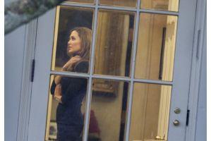 アンジー、ピット夫妻が米大統領と談笑