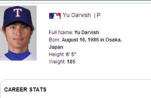 ダルビッシュ有投手が6年46億円でメジャー契約