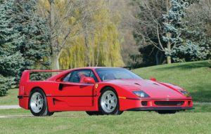 米自動車界重鎮のフェラーリF40が競売出品