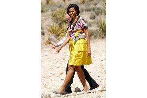 オバマ大統領夫人が383万円分高級下着を購入?
