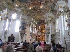 写真で届ける世界遺産(ドイツその8、奇跡の伝説があるヴィースの巡礼聖堂はドイツ・ロココの傑作)